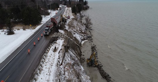 Fixes for record high water levels expected to come with big pricetag for Michigan